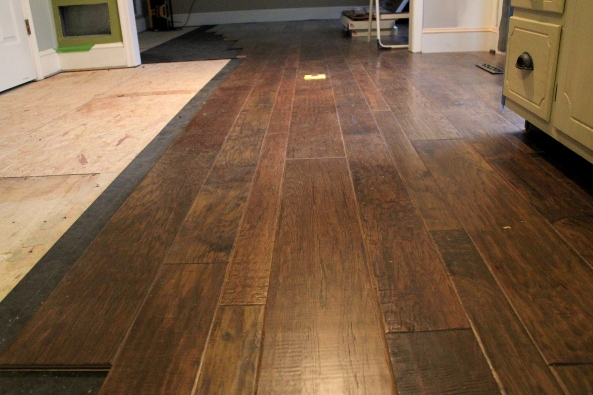 Hand scraped engineered hardwood flooring pros and cons for Wood stain pros and cons